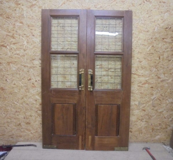 Oak Double Pub Doors