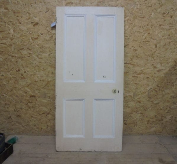 4 Panelled Door (slight damage)
