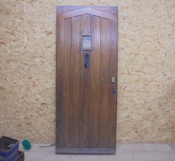 Large Oak Fancy Front Door