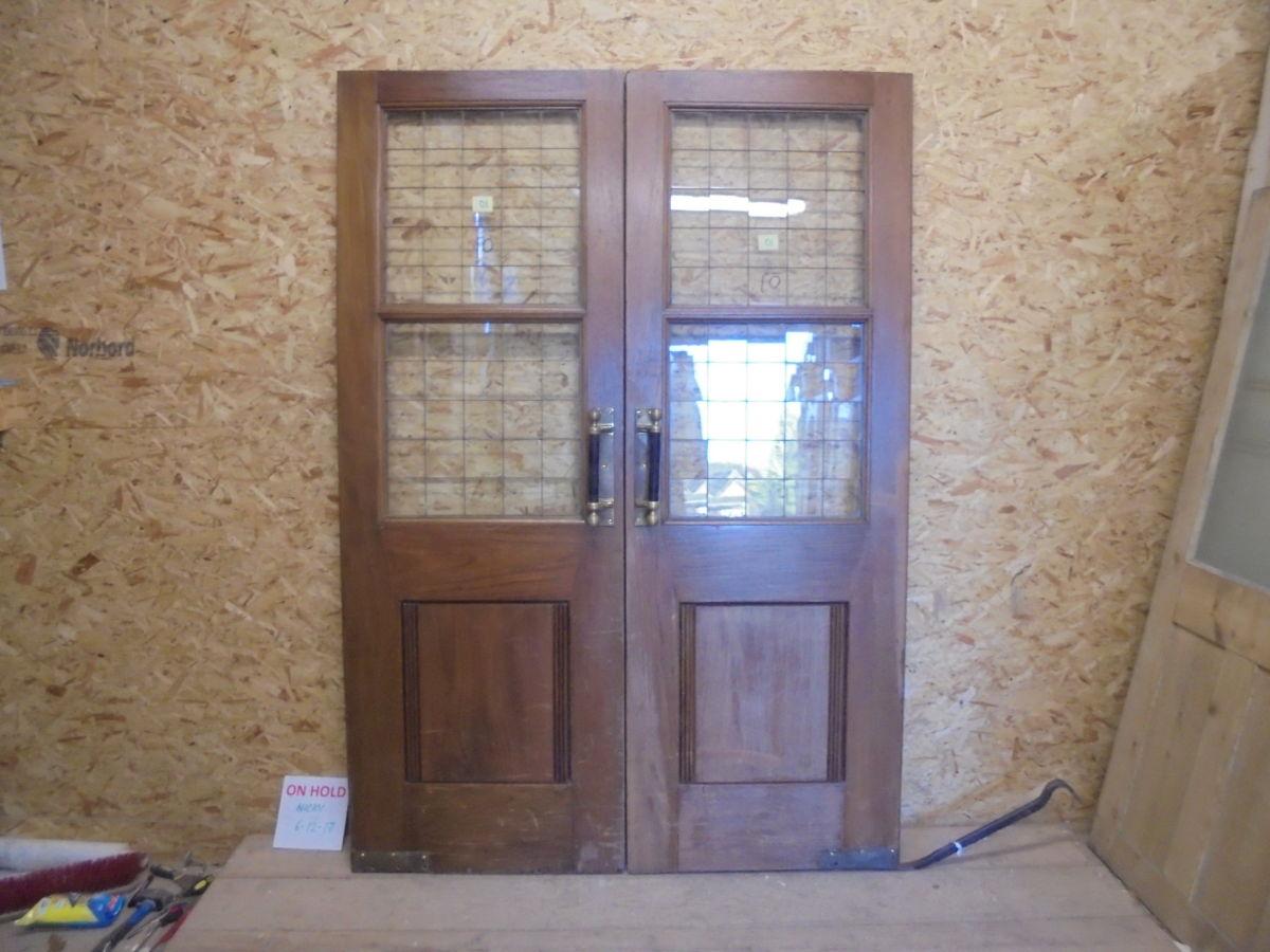 Pub Solid Oak Double Doors