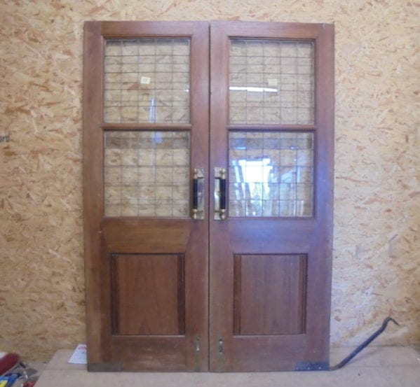 Solid Oak Pub Double Doors