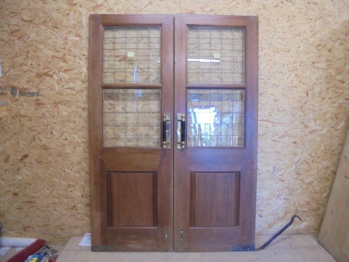 Solid Oak Pub Double Doors