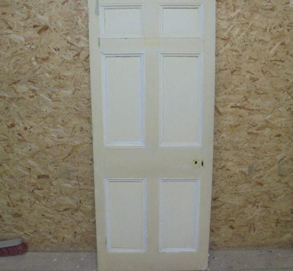Cream 6 Panelled Door