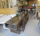 Reclaimed Carpenter's Workbench