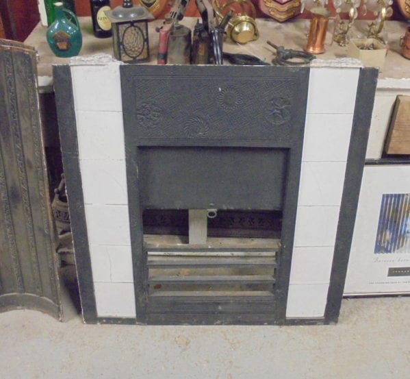 Thomas Jeckyll White Tile Fireplace