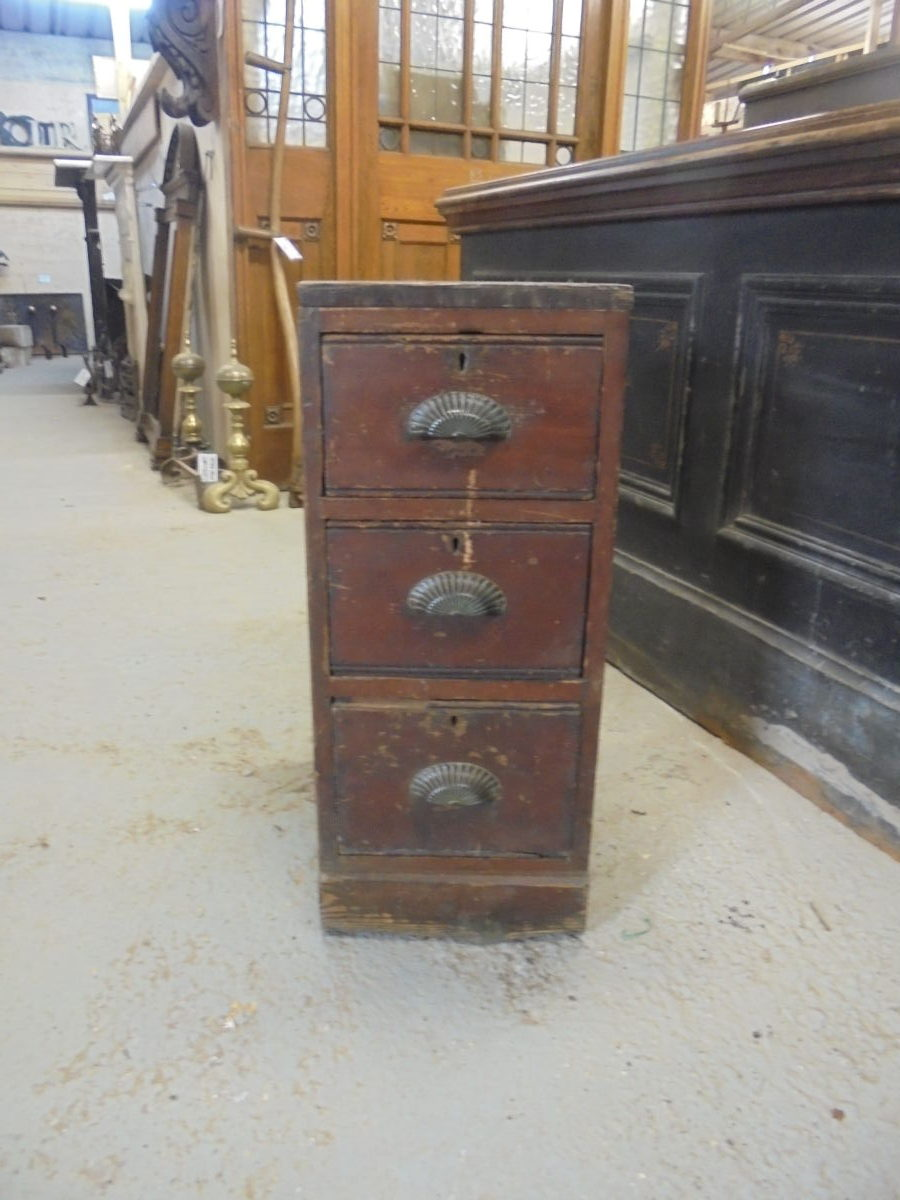 Decorative Dark Wood Drawers
