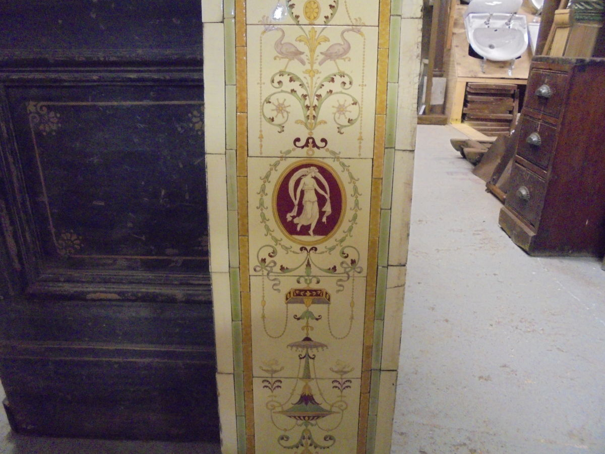 Decorative Fireplace Tile Panels