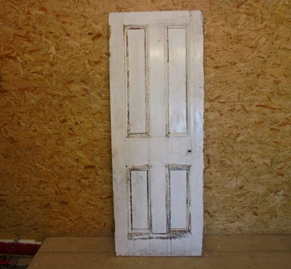 Medium White 4 Panelled Door