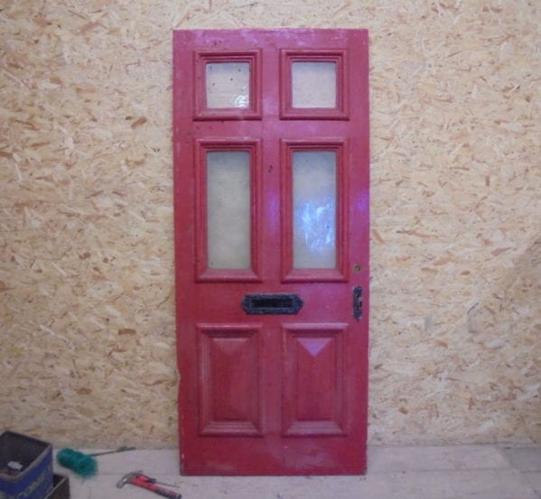 Big Red Front Door