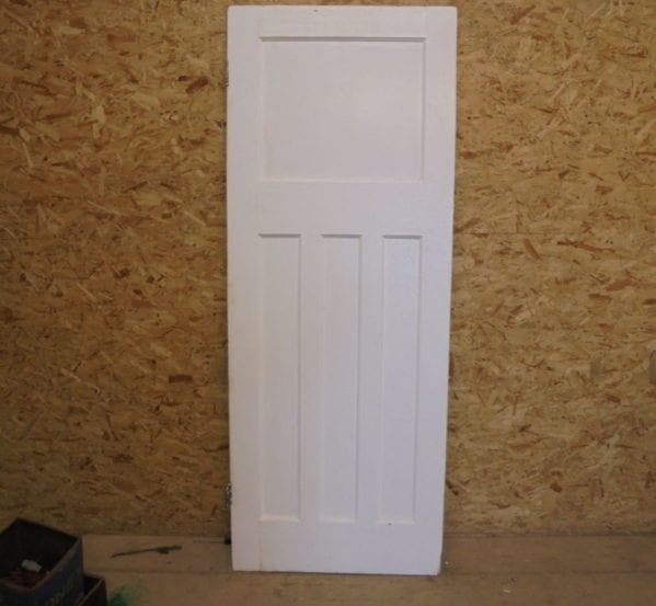 Painted 1 Over 3 Door White