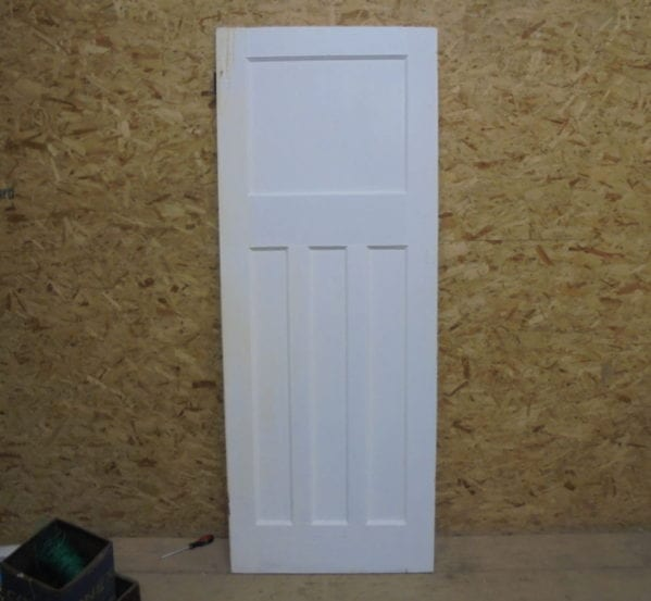 1 Over 3 White Door