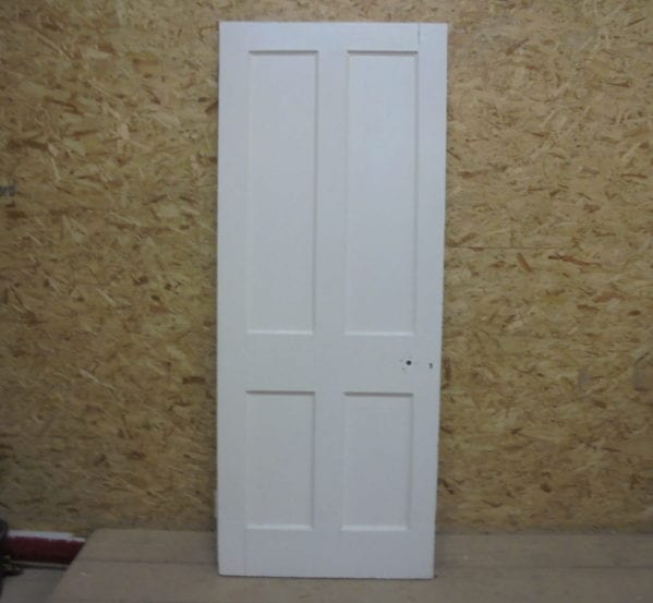 Modest Inlay White 4 Panel Door