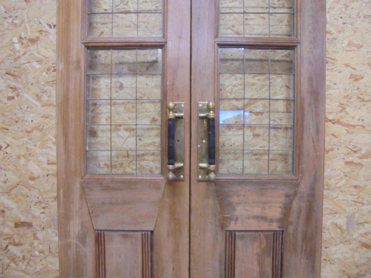 Dark Oak Pub Double Doors