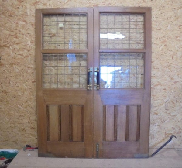 Large Dark Oak Double Doors