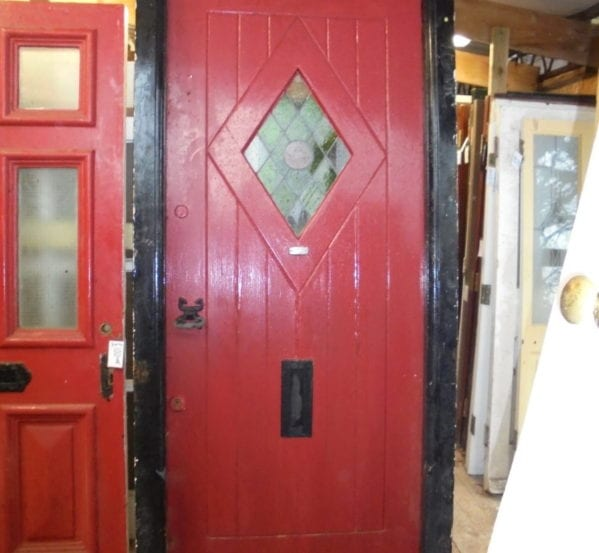 Custom Oak Front Door