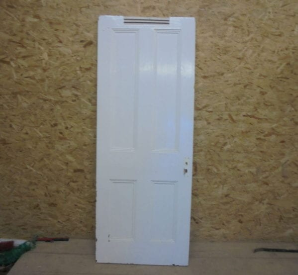 White 4 Panel Vented Door