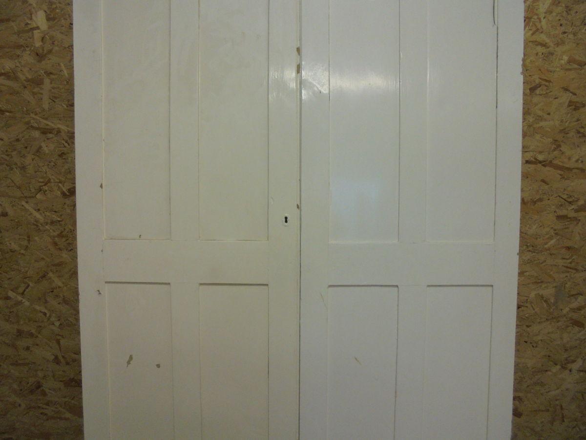 Light White 4 Panel Doors