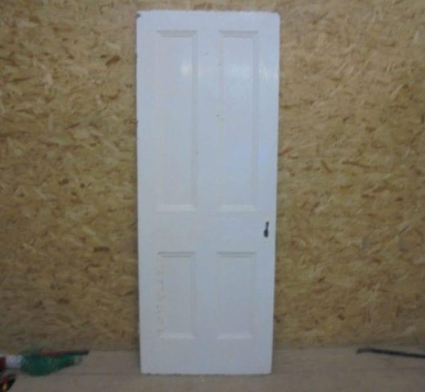 Door White 4 Panel