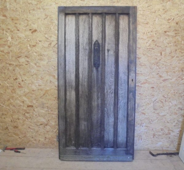 Nicely Weathered Oak Front Door
