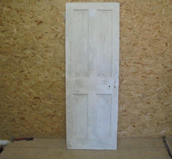 White 4 Panelled Door