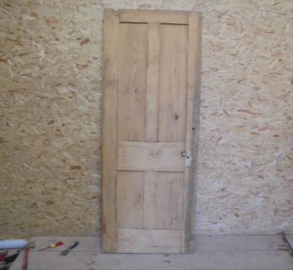4 Panelled Door Stripped