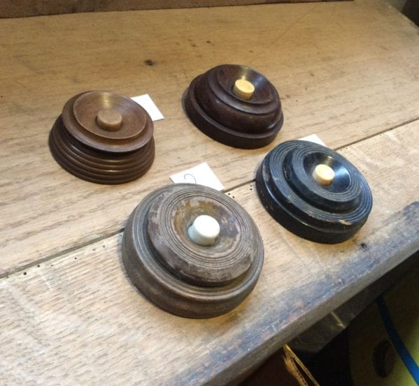Selection of Large Wooden Door Bells