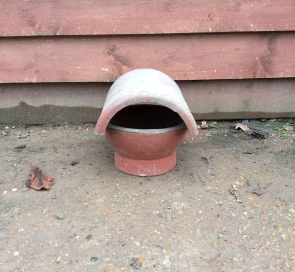 Terracotta Reclaimed Chimney Cowl