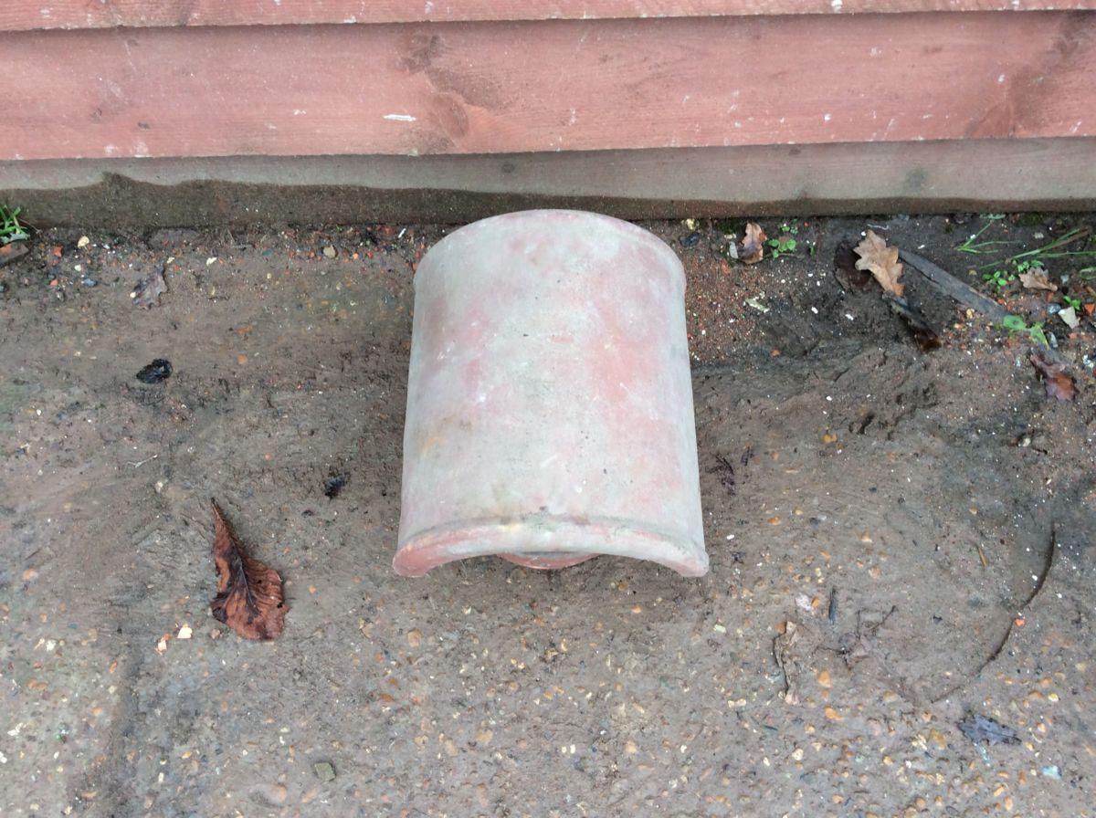 Terracotta Reclaimed Chimney Cowl