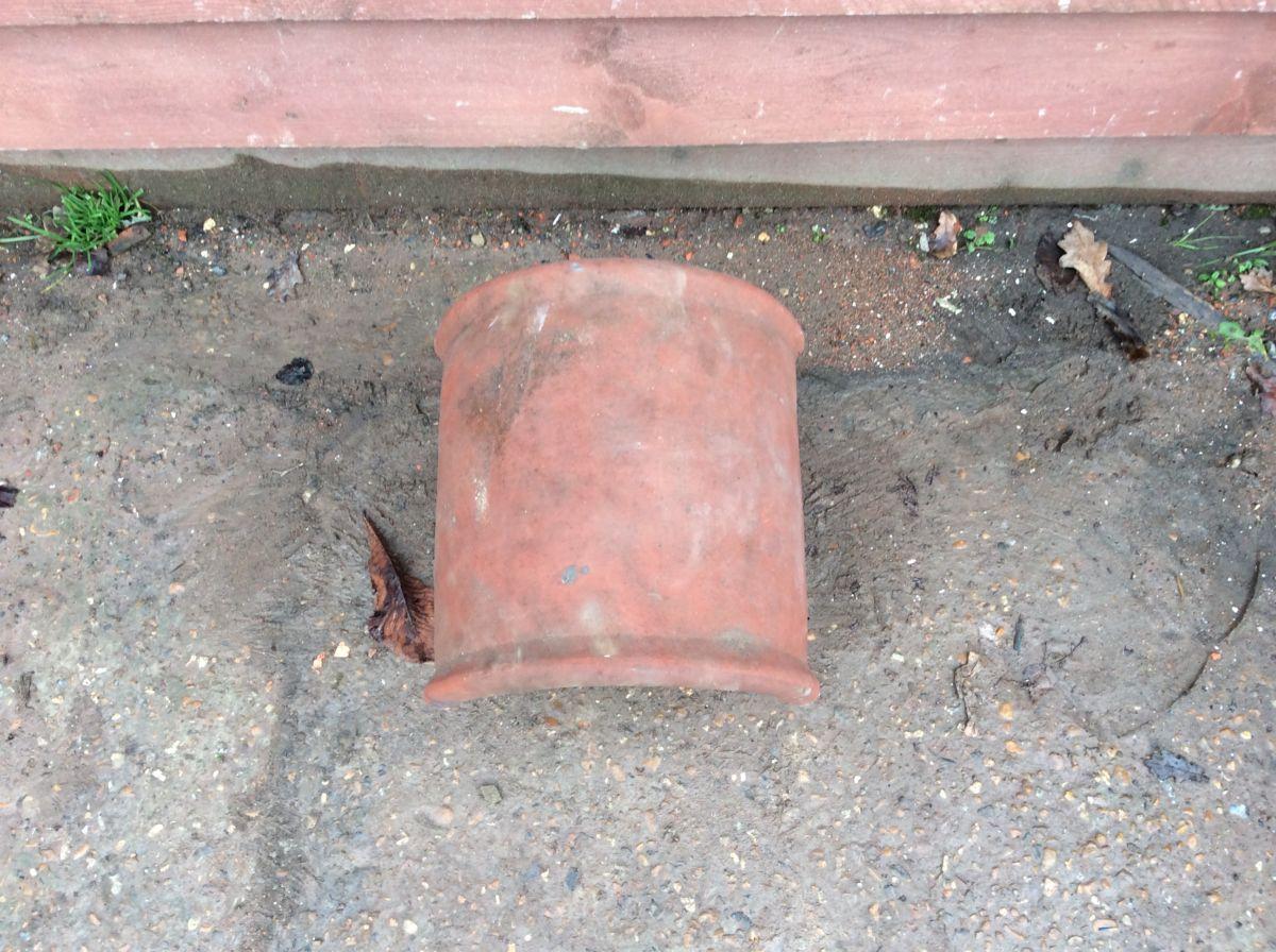 Terracotta Chimney Cowl Reclaimed