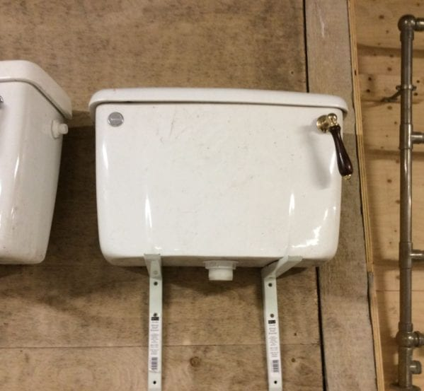 Reclaimed Modern Esque Toilet Cistern