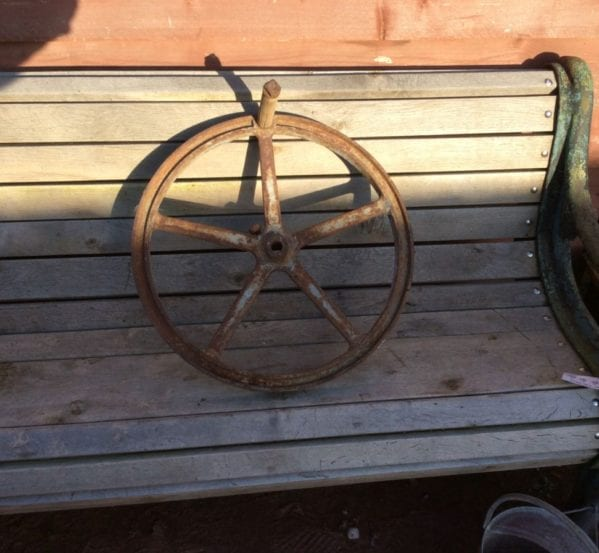Cast Iron Hand Wheel
