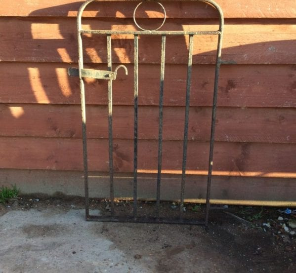 Small Cast Iron Garden Gate