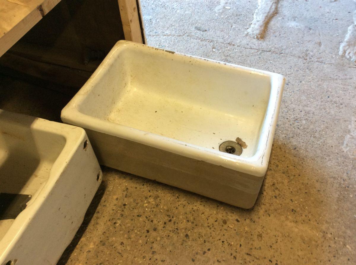 Long Reclaimed Butler Sink