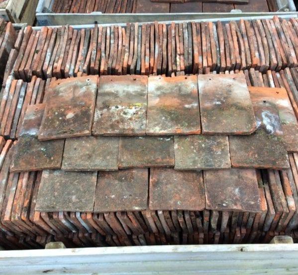 Reclaimed Weathered Handmade Peg Tile