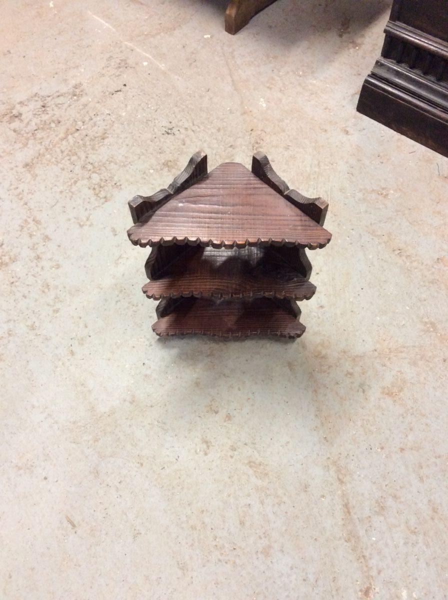 Small Decorative Wooden Corner Shelves