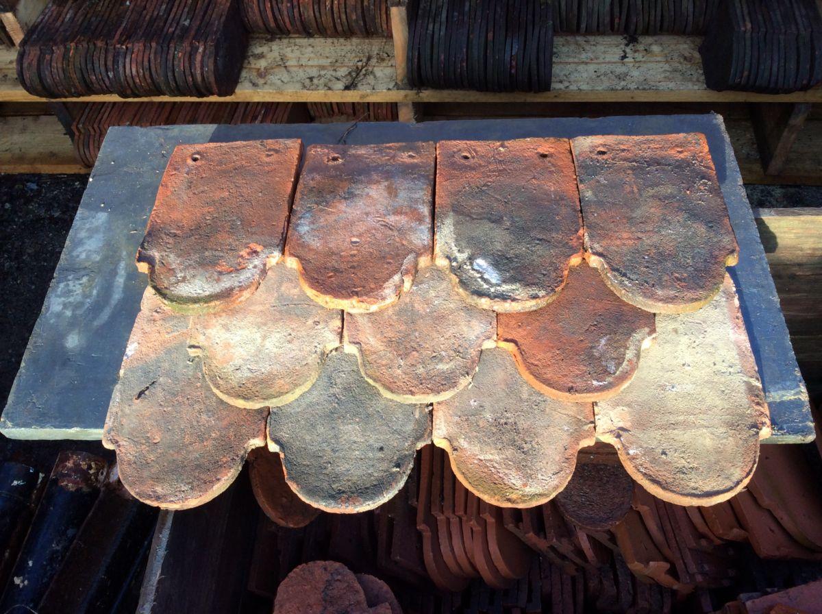 Reclaimed Handmade Clay Club Tile