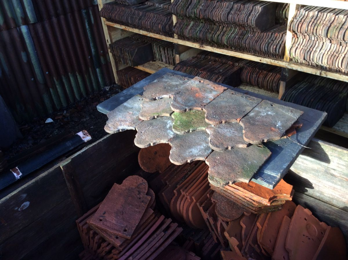 Reclaimed Weathered Handmade Club Tile