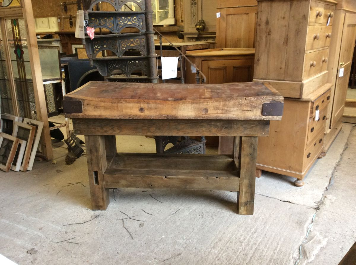 Large Butchers Block & Stand