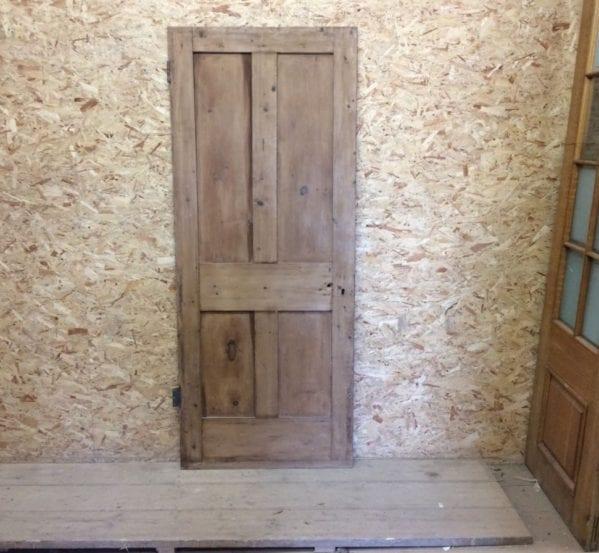 Reclaimed Dark 4 Panel Stripped Door