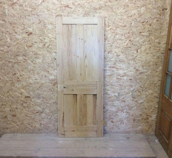 Stripped 4 Panel ReclaimedPine Door