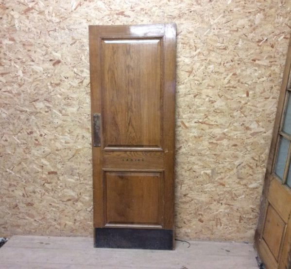 Fully Furnished Reclaimed Ladies Oak Door