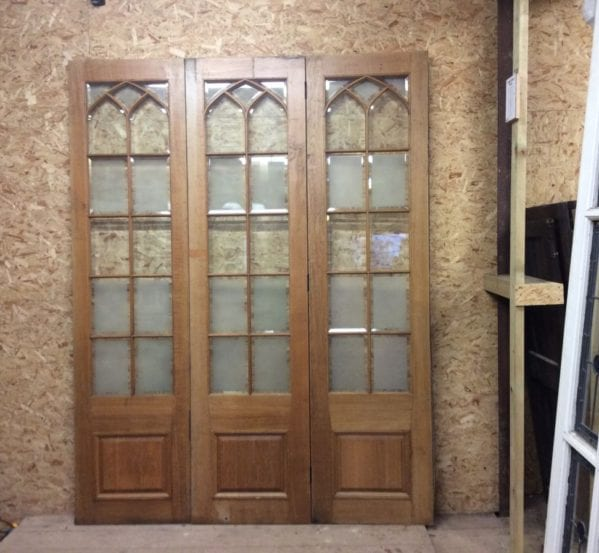 Wentworth Golf Club Oak Half Glazed Room Dividers