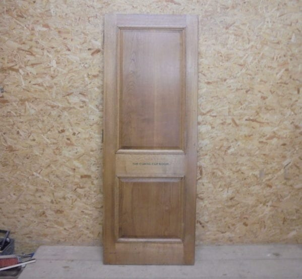 Reclaimed Oak Vintage 2 Panelled Door