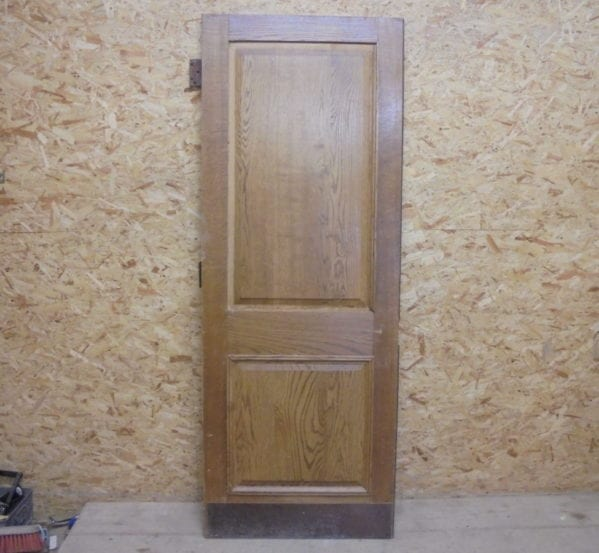 2 Panelled Oak Vintage Door