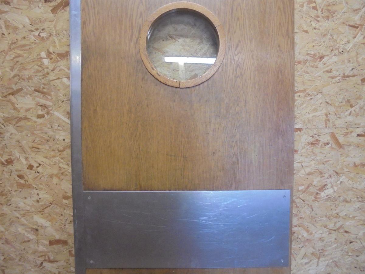 Swinging Oak Commercial Kitchen Door