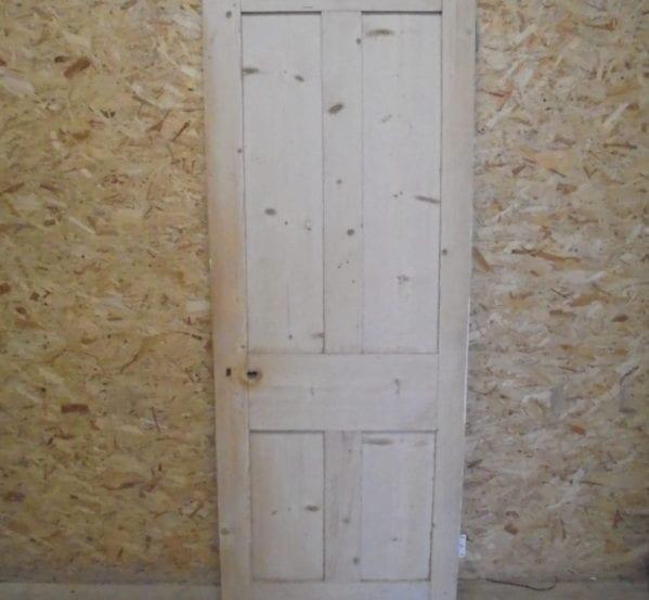 Standard Stripped Pine 4 Panelled Door