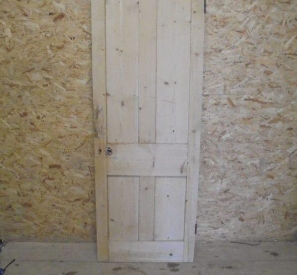 Beautiful 4 Panelled Stripped Pine Door