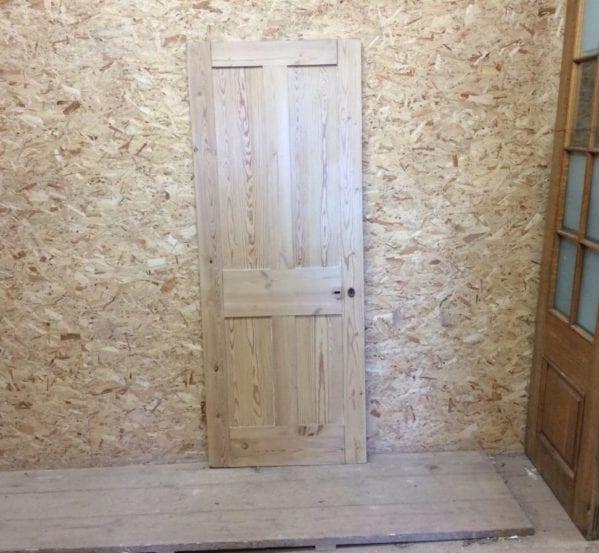 Pine 4 Panel Reclaimed Stripped Door