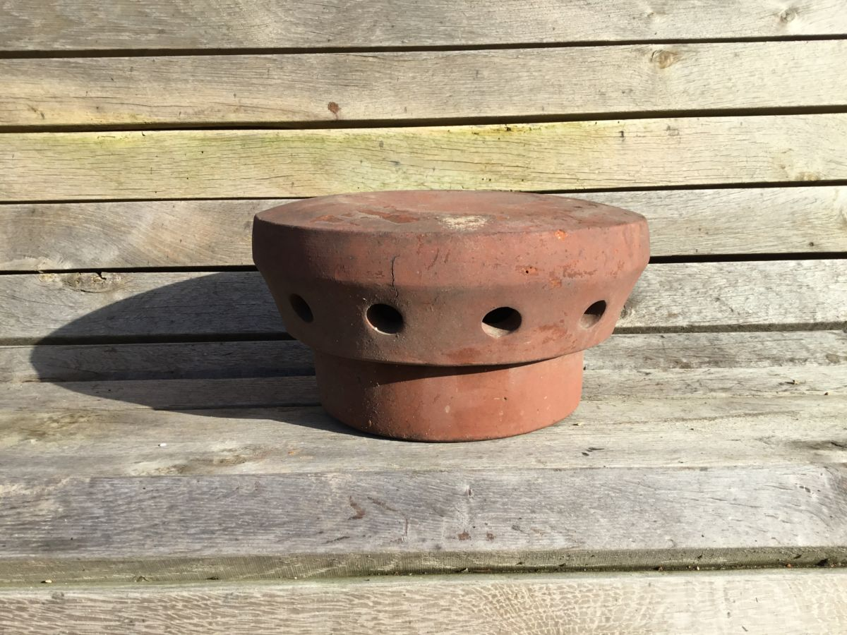 Round Terracotta Chimney Cowl