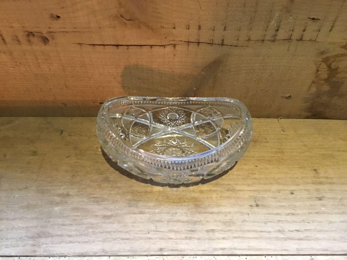 Victorian Lead Crystal Dish